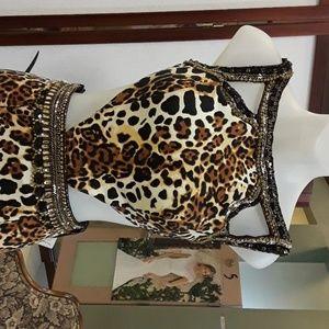 Sherri hill 32199 leopard 4